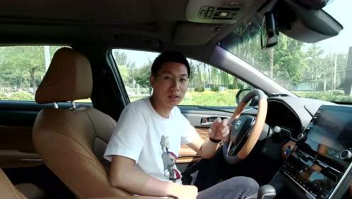 丰田亚洲龙内饰豪华感营造十分到位