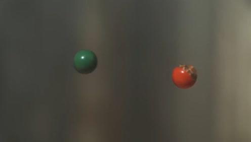 假如两颗子弹相撞,会产生什么样的场景呢?老外亲自试验结果