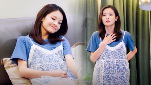赖雨濛演孕妇身材招人嫉妒 怀胎数月穿连衣裙还显瘦