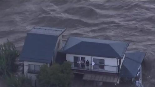 台风海贝思已致日本36人死亡 76万人接到避难指示
