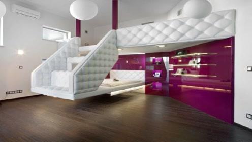 会变形的家具神作,1室1厅也能变出3室2厅的空间来