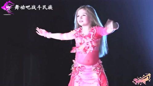 """可爱的""""天竺少女""""!小萝莉曼妙的舞姿征服了全场观众"""