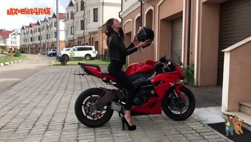 俄罗斯女网红第一次露脸出镜,看到侧脸的一刻粉丝不淡定了