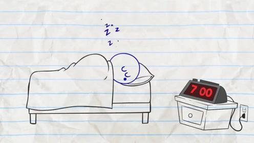 铅笔小伙总是赖床,闹钟怎么叫也不起,于是直接开始放电了!