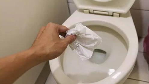 卫生纸应该丢在马桶里还是垃圾桶里?我也刚知道,以后别乱丢了