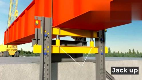 三维动画还原,桥梁是如何架设的,为你解开所有疑惑!