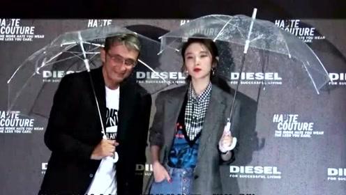唐艺昕婚后衣品更好了,卫衣搭配半身裙,时髦又显气质!