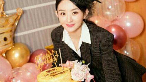 赵丽颖结婚纪念日庆生 老公冯绍峰却和颖宝粉丝撞了祝福文案