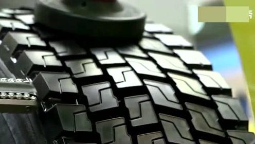 旧轮胎翻新是这样操作的,网友:看完不能淡定了!