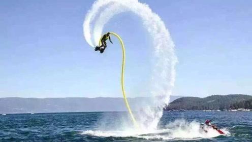 这可不是五毛特效,他们真做出了能飞的星战飞行摩托!
