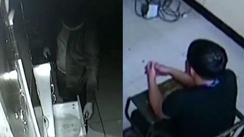 小伙6次盗窃被拍成了网红 他怂了
