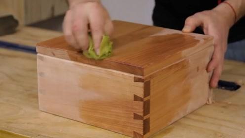采用中国榫卯技术打造一个木盒,古人的智慧,足以让人惊叹