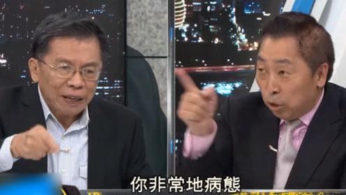 """绿营大佬替蔡英文狡辩 竟侮辱唐湘龙""""你非常病态"""" 遭唐巧妙回击"""