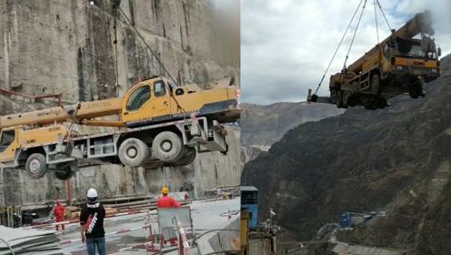 """震撼! 一线工人视频记录我国第三大水电站的建设 吊车都能""""飞起来"""""""