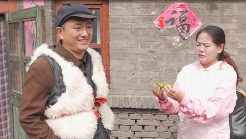 搞笑短剧:老公买橘子偷吃,被媳妇测试出PH值,太有趣了