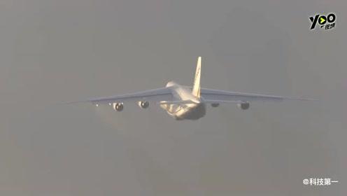 世界上第二大的运输机:安-124,几百吨的大家伙起降依然举重若轻