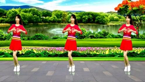 珍红广场舞《最真的梦》一看就会