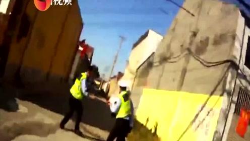 宝马男酒驾遇查两次逃逸累瘫在地:我错了,低估了警察的实力