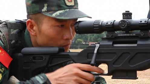 """实拍武警特战狙击手百米外一枪""""爆蛋"""" 这才是真正的枪神"""