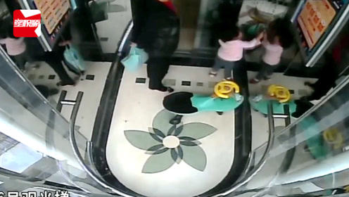 揪心!江苏4岁女童玩电梯,手臂被卡门缝中,奶奶就在一旁