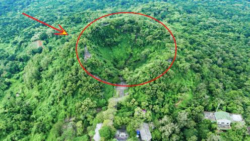 海南这个8000多年的休眠火山口,有可能再次爆发,景色太美了
