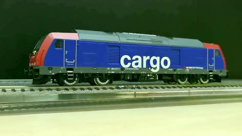 火车模型:BR245,Cargo货运机车,感受机车声,太逼真了