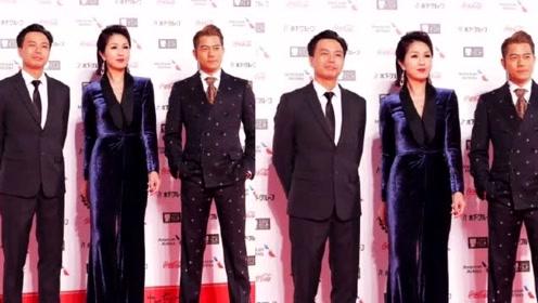 杨千嬅酷飒亮相东京国际电影节 与郭富城同框