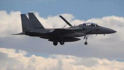 廉颇老矣?日本将升级F-15J战机,为其更换有源相控阵雷达