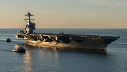 美11万吨航母再次出海,领先辽宁舰超2代,一艘能顶4艘用