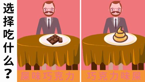 脑力测试:屎味的巧克力和巧克力味的屎,你会怎么选?为什么?