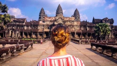这个东南亚小国藏着全世界最大的庙宇,还可以坐独一无二的敞篷竹火车!