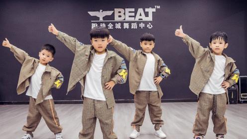 少儿街舞《为梦想,时刻准备着》又酷又萌!