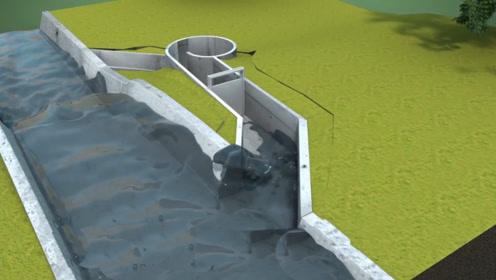 比利时发明家用水电站,60户家庭免费用电100年,巧妙的设计!