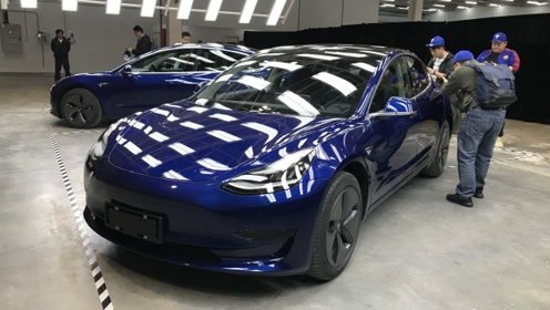 国产特斯拉Model3实车正式亮相;江淮瑞风S7 Pro将亮相广州车展