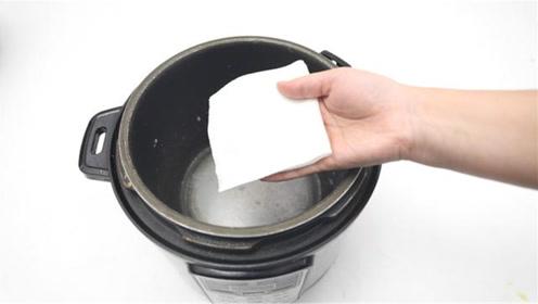 才知道,电饭锅里铺一张纸这么厉害,解决家里一大麻烦事,都看看