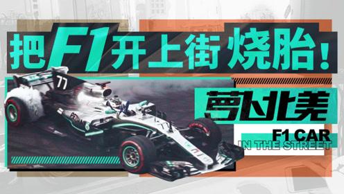 把F1开上街烧胎是什么感觉?| 萝卜北美