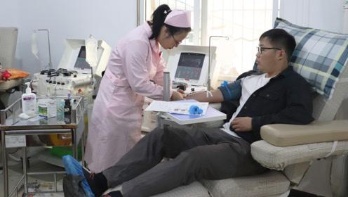 点赞!66岁老人病危向高校求助  18名大学生挺身而出验血救人