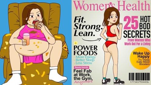 胖女孩重达300斤,被同学嘲笑像头猪,下定决心减肥后堪比整容!