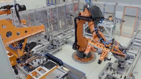 全自动无人加工厂,看看汽车核心部件加工过程,太先进了!