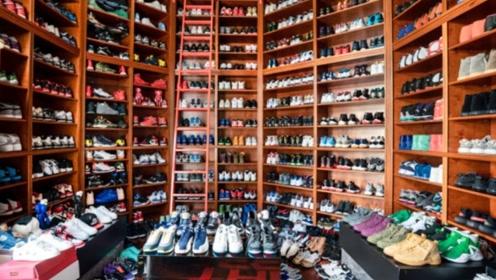球鞋分享:这个房间收藏的球鞋总价竟达3000万,多数鞋款全球仅一双