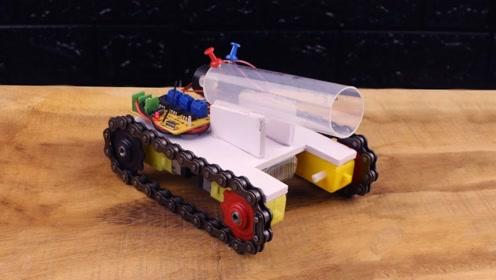 玩具坦克的制作,你喜欢吗?