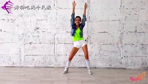 """俄罗斯舞蹈老师教你跳""""尊巴舞"""",练出紧致身材"""