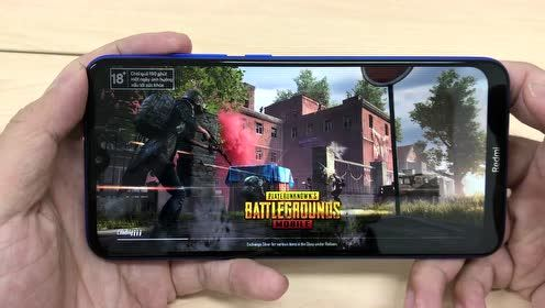 红米8A手机玩吃鸡游戏