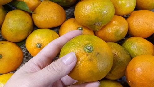 橘子甜不甜,看这里就知道了,一挑一个准,实用