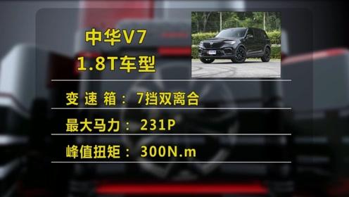 中华V7 1.8T的版本怎么样?