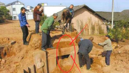 村民盖房时发现南宋古墓!考古队看碑文后张口大骂:太不要脸了