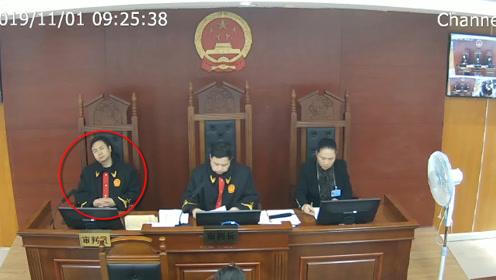 法官庭审时仰倒椅子睡觉被直播 永州中院:停职检查作出严肃处理!