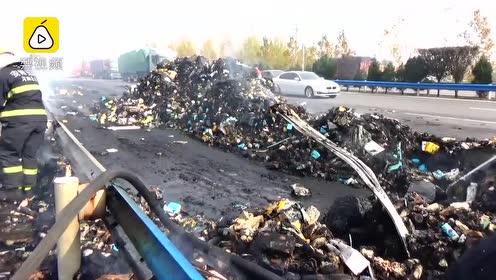 百世快递回应13吨包裹烧毁:正补发赔付,预计3天内补发完毕