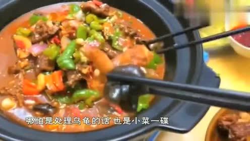 国家一级厨师刀功有多恐怖乌龟的这种吃法,绝对都是狠人