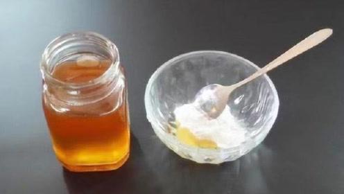 小苏打和蜂蜜加在一起,没想到这么厉害,搞定了每个女人的烦恼